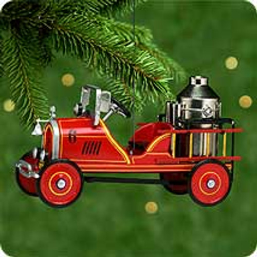 2000 Kiddie Car Classic #7 - 24 Toledo Fire Engine Hallmark Ornament