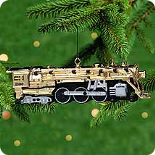 2000 Lionel - 100th Anniv. Gold Hallmark Ornament