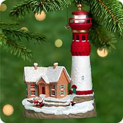 2000 Lighthouse Greetings #4 Hallmark Ornament