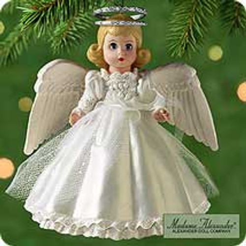 2000 Madame Alexander Angel #3F - Twilight Angel Hallmark Ornament