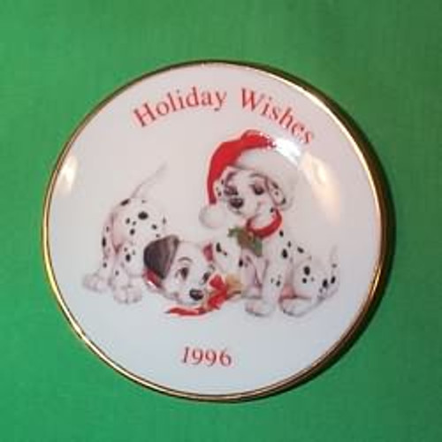 1996 Disney - 101 Dalmation Plate