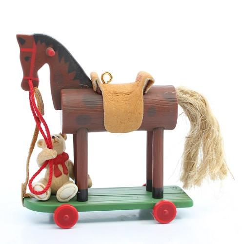 2000 A Pony For Christmas #3 - Colorway Hallmark Ornament