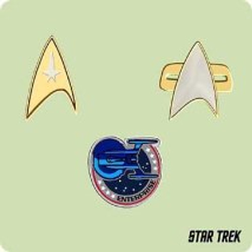 2004 Star Trek Mini Insignias