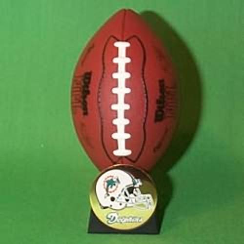 2000 NFL - Miami Dolphins Hallmark Ornament