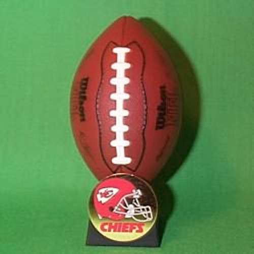 2000 NFL - Kansas City Chiefs Hallmark Ornament