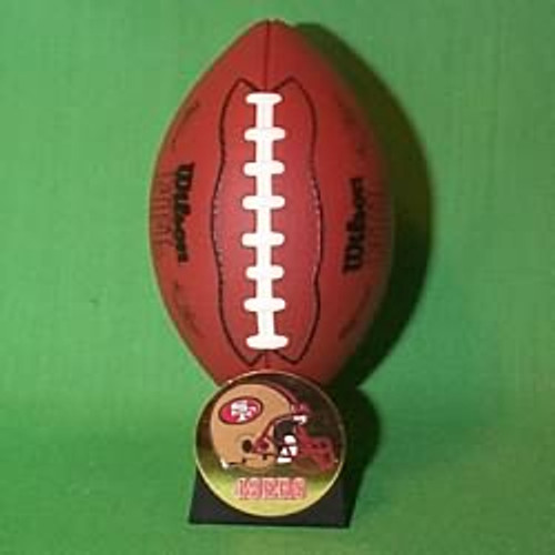 2000 NFL - San Francisco Forty Niners Hallmark Ornament