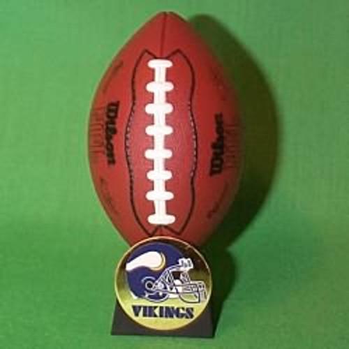 2000 NFL - Minnesota Vikings Hallmark Ornament