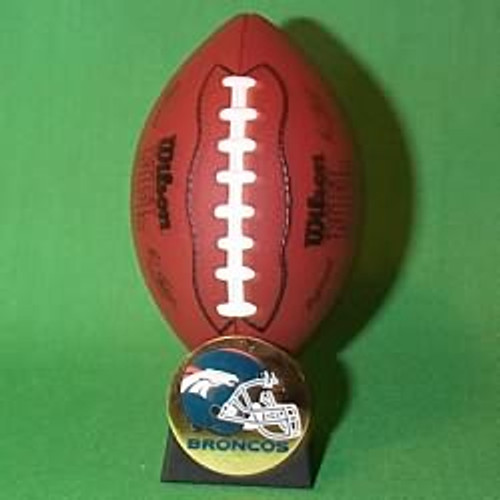 2000 NFL - Denver Broncos Hallmark Ornament