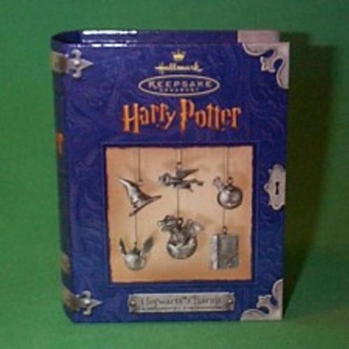 2000 Harry Potter - Hogwarts Charms Hallmark Ornament
