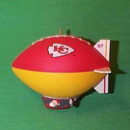 1997 NFL - Kansas City Chiefs