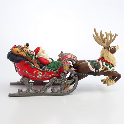 1997 Santa's Magical Sleigh - Colorway