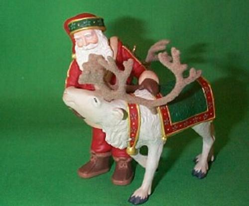 1998 Santa's Deer Friend - Colorway