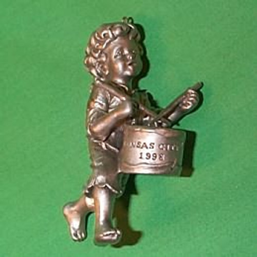 1998 Kansas City Drummer Boy - Fine Pewter