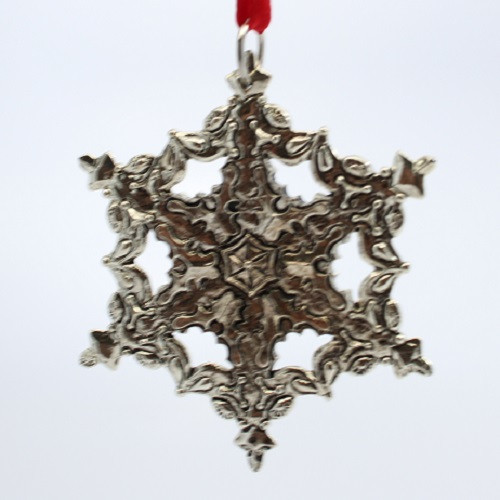 1998 Winter Wonderland - Silver Plated Snowflake