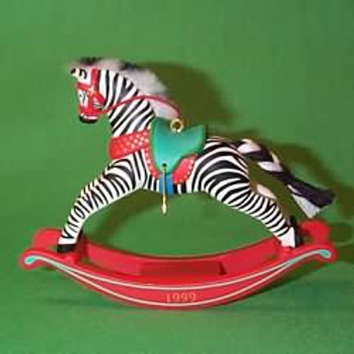 1999 Rocking Horse - Zebra Fantasy