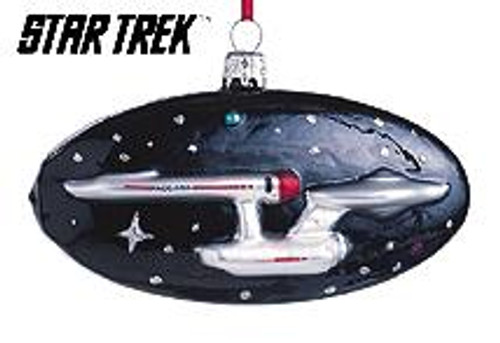 1999 Star Trek - USS Enterprise - Blown Glass
