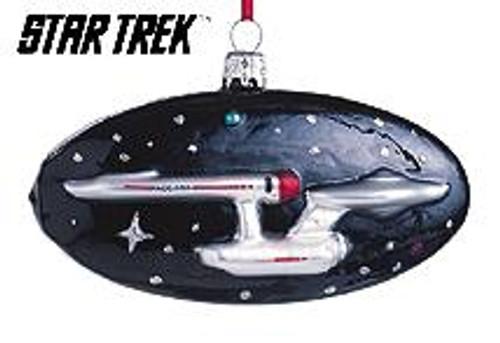 1999 Star Trek - USS Enterprise - Blown Glass