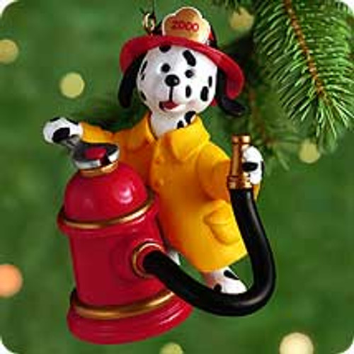 2000 Dousin' Dalmation Hallmark Ornament