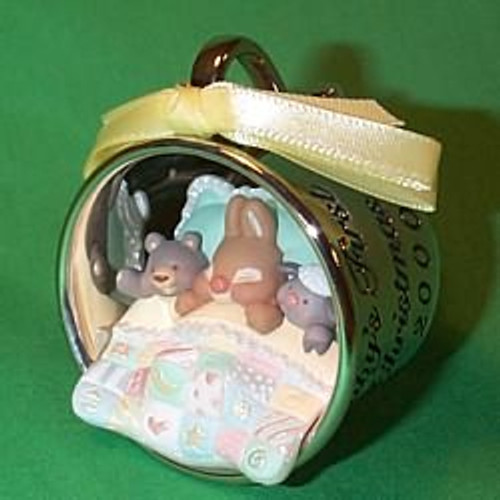 2000 Baby's 1st Christmas - Cup Hallmark Ornament