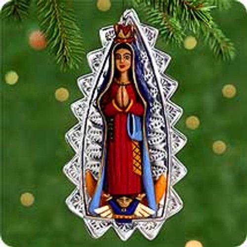 2000 Our Lady Of Guadalupe Hallmark Ornament