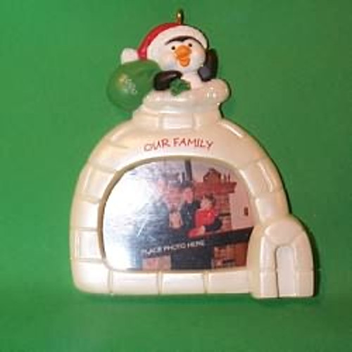 2000 Our Family Hallmark Ornament
