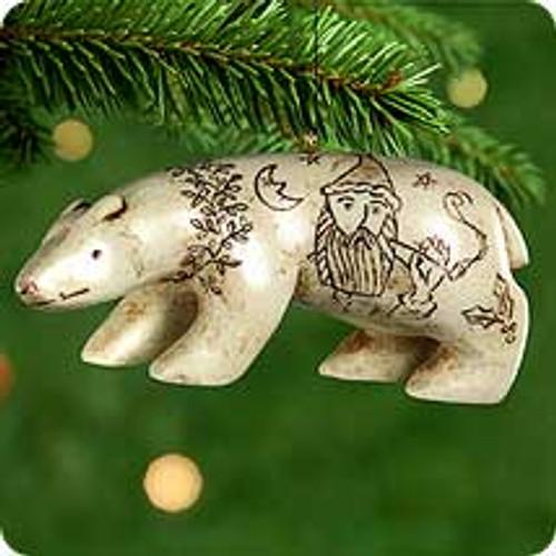 2000 Northern Art Bear Hallmark Ornament