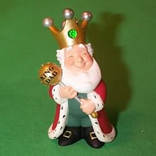 2000 Dad Hallmark Ornament