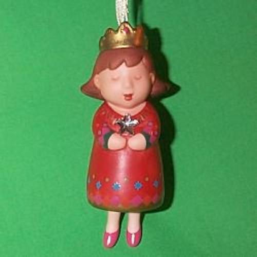 2000 Daughter Hallmark Ornament