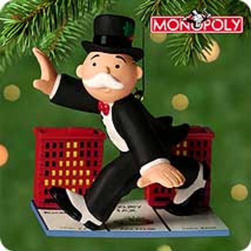 2000 Mr. Monopoly Hallmark Ornament
