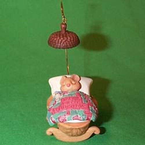 2000 Baby's 1st Christmas - Nutshell Hallmark Ornament