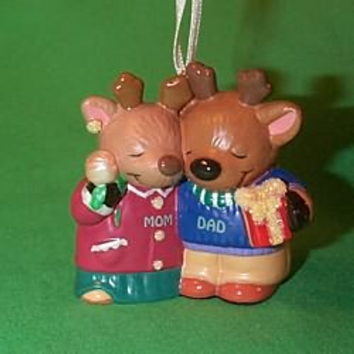 2000 Mom and Dad Hallmark Ornament