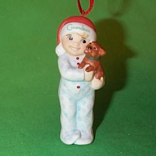 2000 Grandson Hallmark Ornament