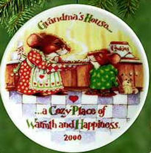 2000 Grandma's House Hallmark Ornament