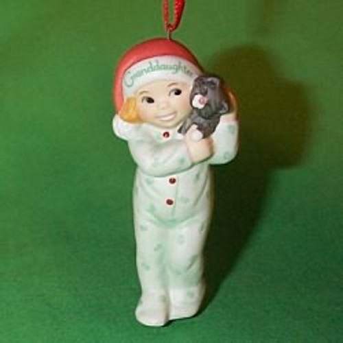 2000 Granddaughter Hallmark Ornament