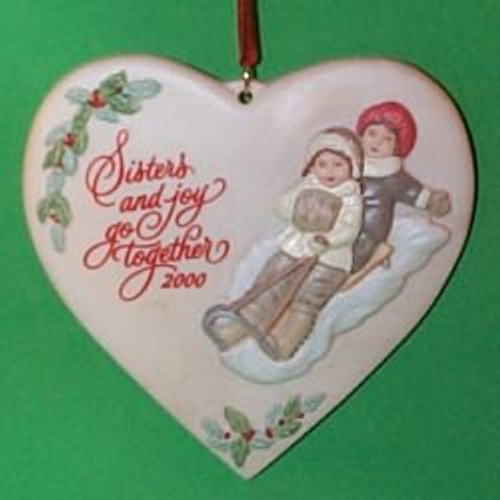 2000 Sister To Sister Hallmark Ornament