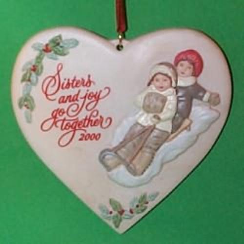 2000 Sister To Sister Hallmark Ornament