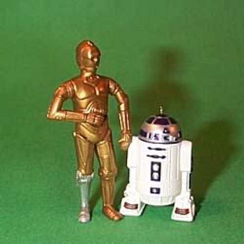 1997 Star Wars - C-3PO And R2-D2 - Mini