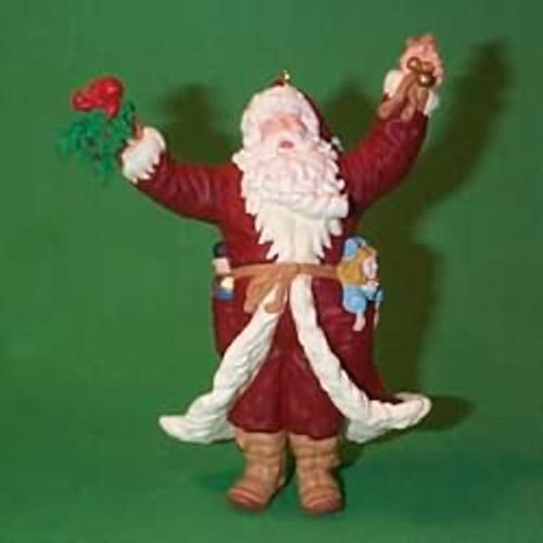 1998 Merry Olde Santa #9 - Artist Signed