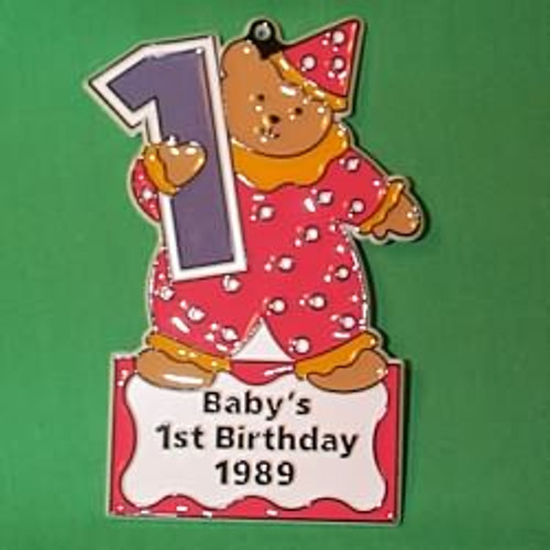 1989 Babys First Birthday
