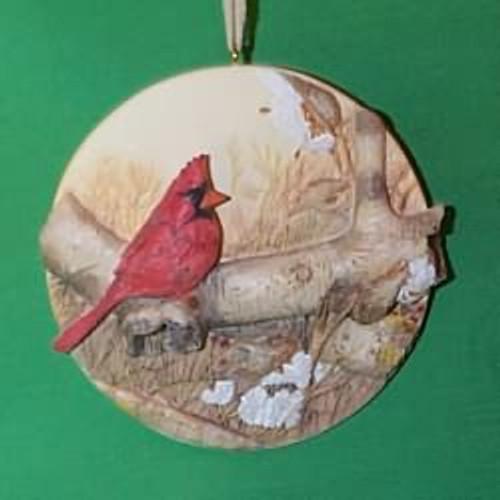 1995 Christmas Cardinal