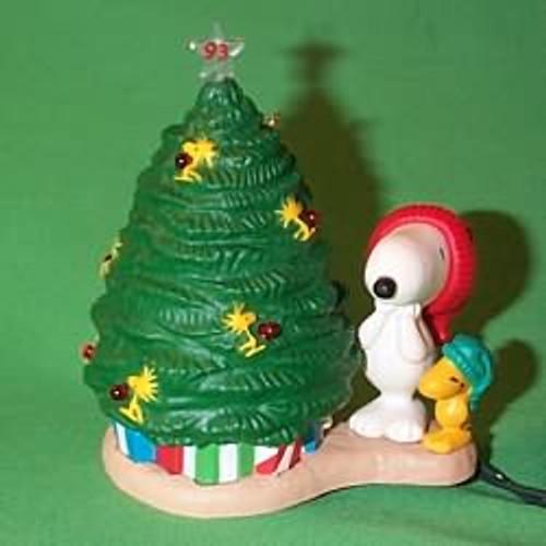 1993 Peanuts Lighted #3