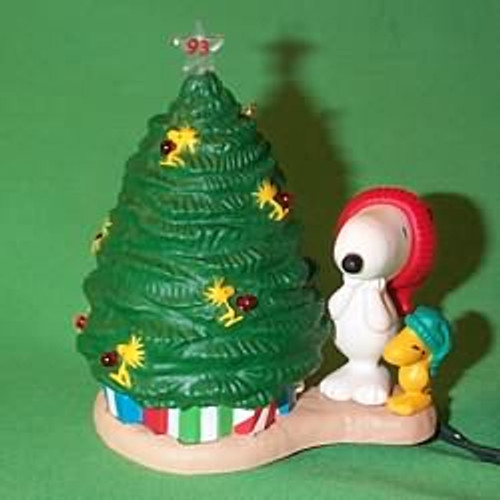 1993 Peanuts Lighted #3