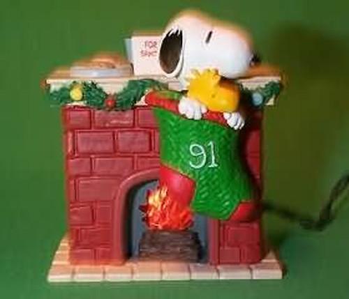 1991 Peanuts Lighted #1