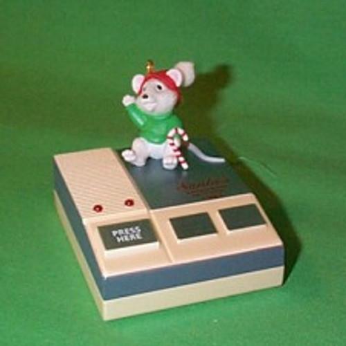 1992 Santa's Answering Machine