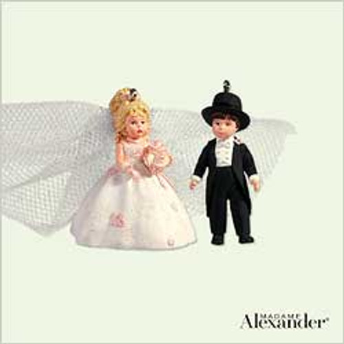 2005 Madame Alexander - Bride And Groom - Mini