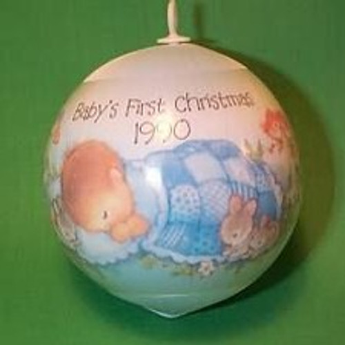 1990 Babys 1st Christmas - Boy