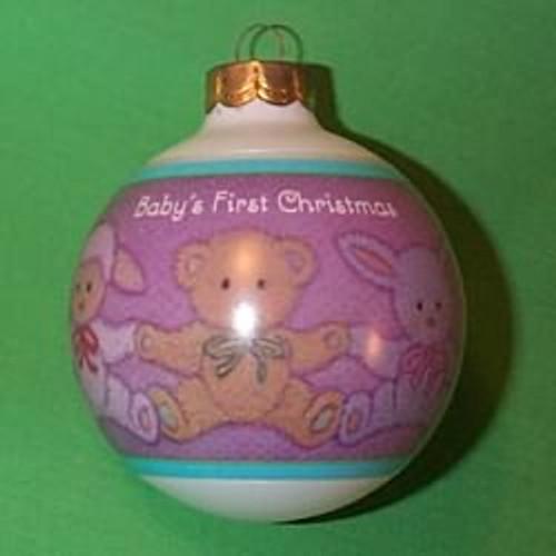 1993 Babys 1st Christmas - Boy