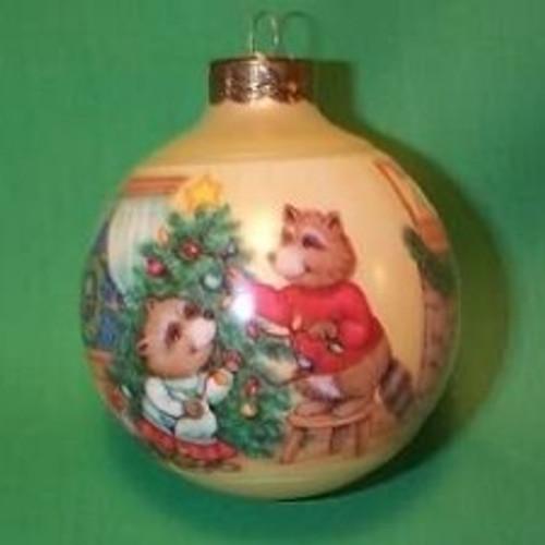 1990 1st Christmas Together - Ball