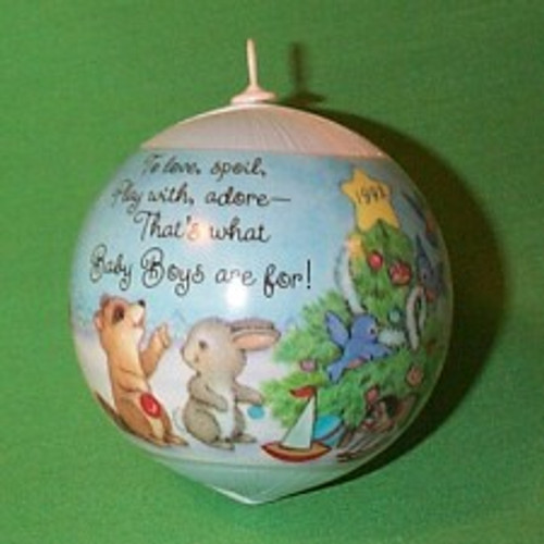 1992 Babys 1st Christmas - Boy