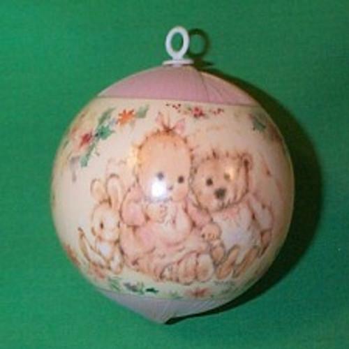 1991 Babys 1st Christmas - Girl